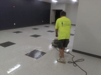Floor Stripping by Payless Cleaning, Inc.